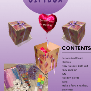 pop up gift box - fairy