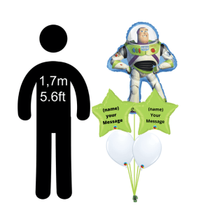 Buzz Lightyear Bouquet personalised
