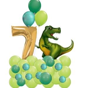 Dinosaur Marquee green