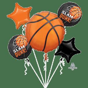 5 Basketball balloons to send to an enthusiast