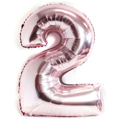 a 100cm pink balloon no 2