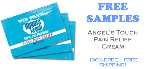 Angels Touch Pain Relief Cream FREE SAMPLE