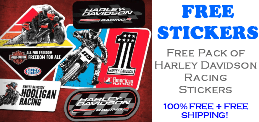 Harley Davidson Racing Stickers