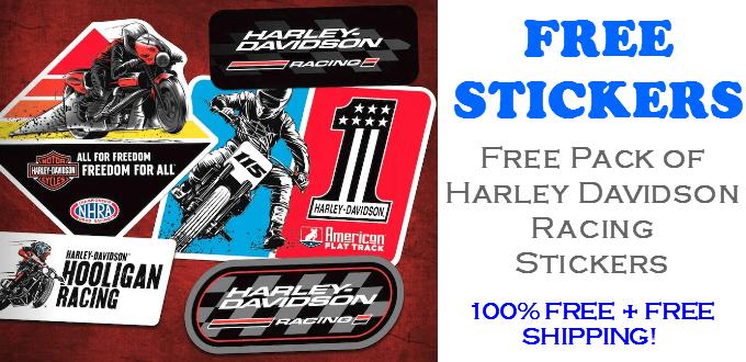 Harley Davidson Racing Stickers