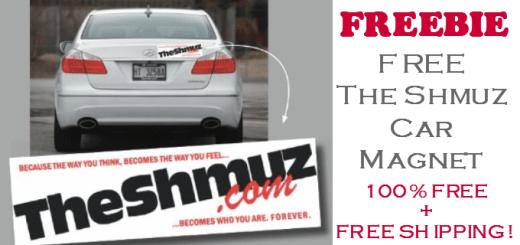 FREE Schmuz Car Magnet