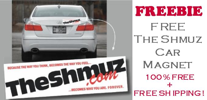 FREE Shmuz Car Magnet