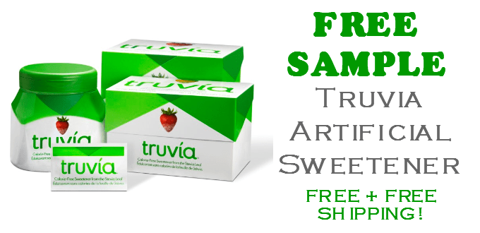 Truvia Artificial Sweetener FREE SAMPLE Packets