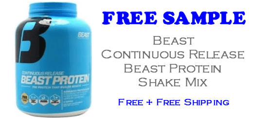 Protein Shake Mix FREE SAMPLE