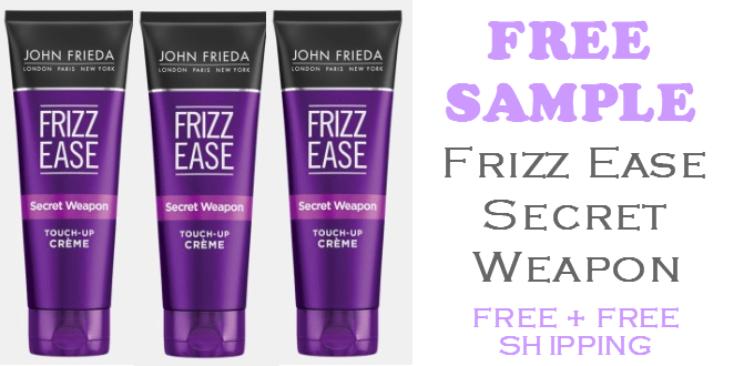Frizz Ease Secret Weapon Touch Up Creme FREE SAMPLE