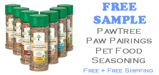 PawTree Paw Pairings Pet Food Seasoning FREE SAMPLE