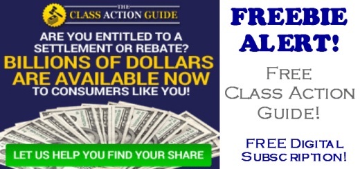 FREE Class Action Guide - Get Your Money!