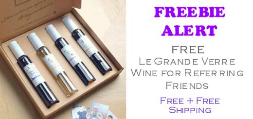 FREE Le Grande Verre Wine