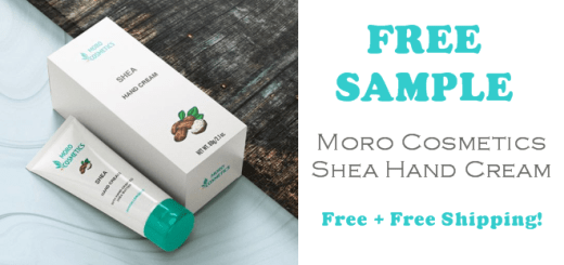 Moro Cosmetics Shea Hand Cream Free Sample