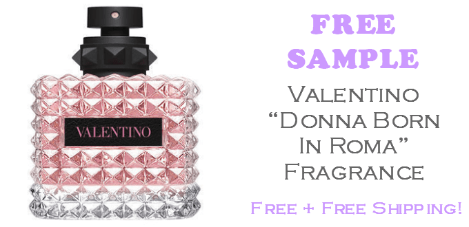 Valentino Donna Born in Roma FREE Sample