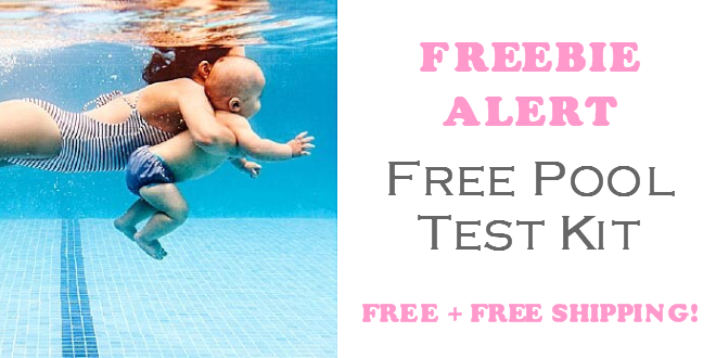 Free Pool Test Kit Freebie