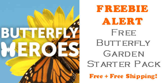 FREE Butterfly Garden Starter Pack