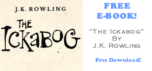 The Ickabog FREE EBook by JK Rowling