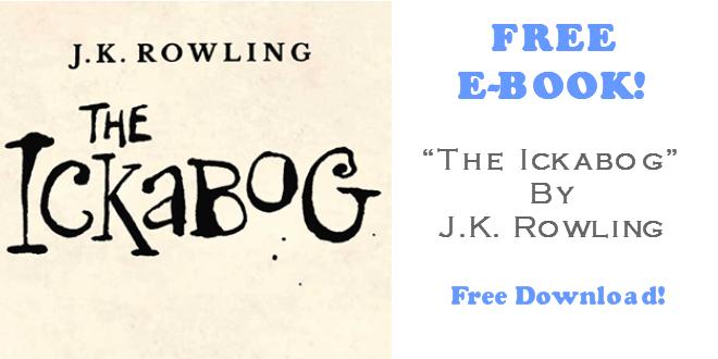 The Ickabog FREE EBook by JK Rowling