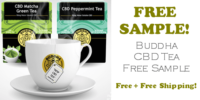 Buddha CBD Tea FREE SAMPLE