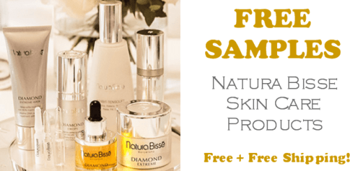 Natura Bisse Skin Care Products FREE SAMPLES