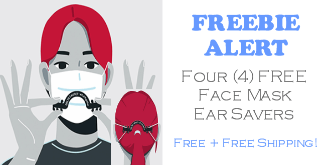 Face Mask Ear Savers FREE