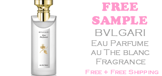 Bvlgari The Blanc Fragrance FREE SAMPLE