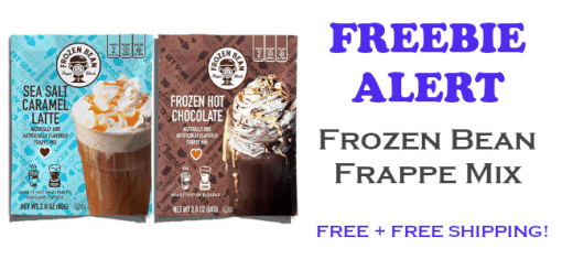 Frozen Bean Frappe Mix FREE SAMPLE