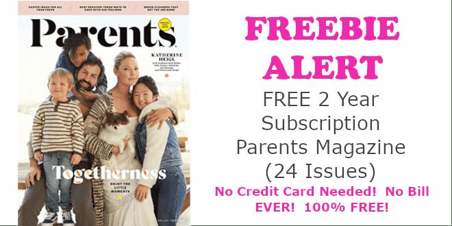 Parents Magazine FREE Subscription