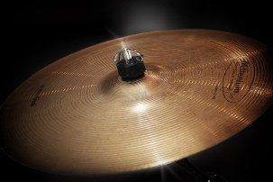 the cymbal for voice percussion