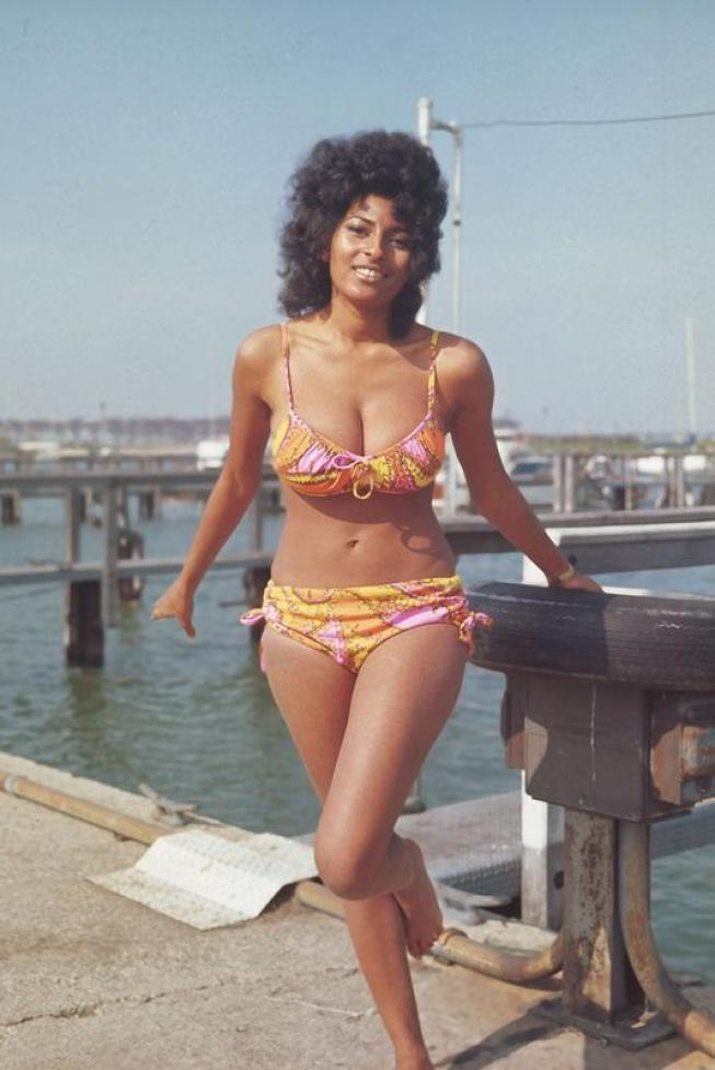 Pam Grier: Young 'Foxy Brown' And 'Coffy' Star