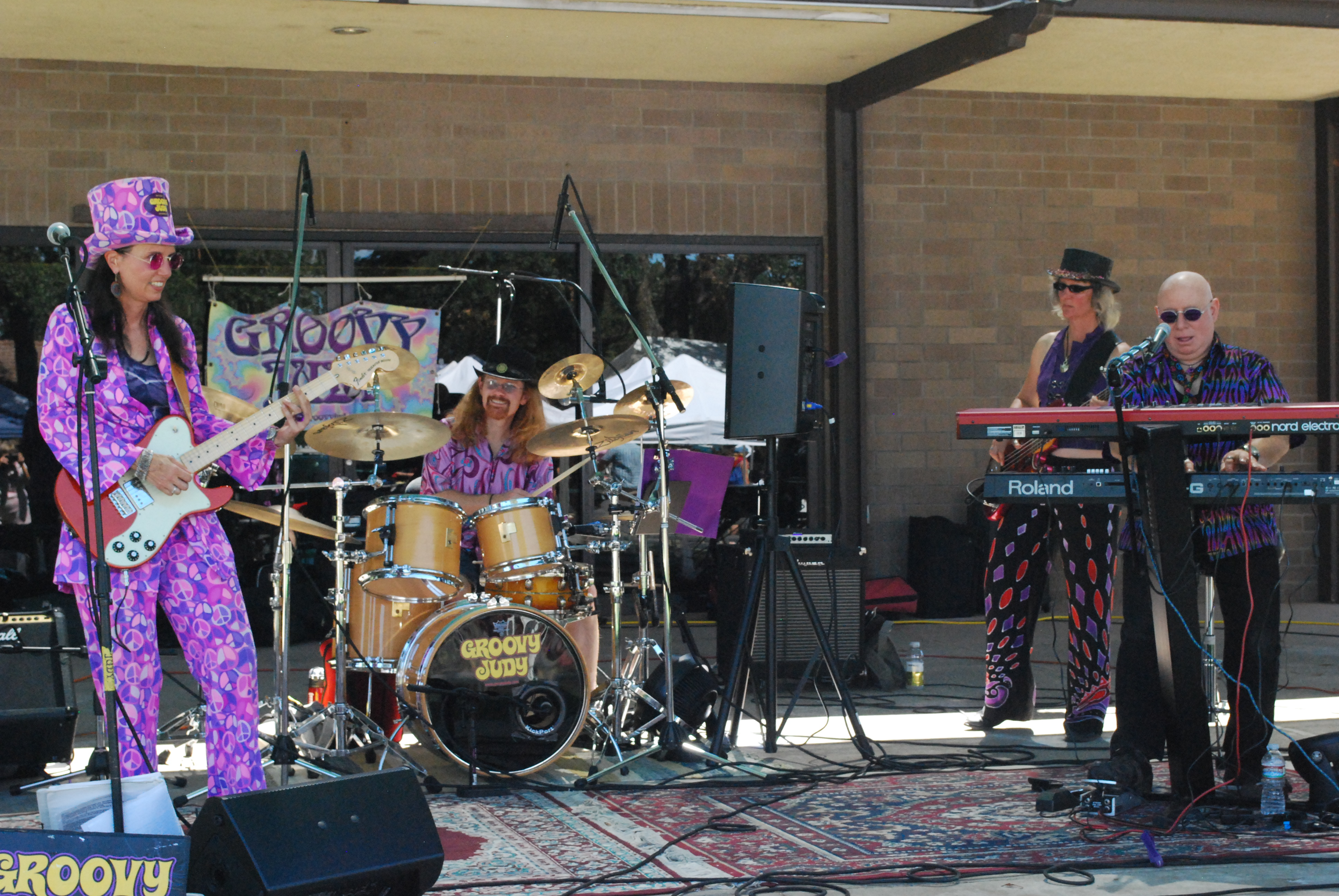 Groovy Judy Band at Woofstock