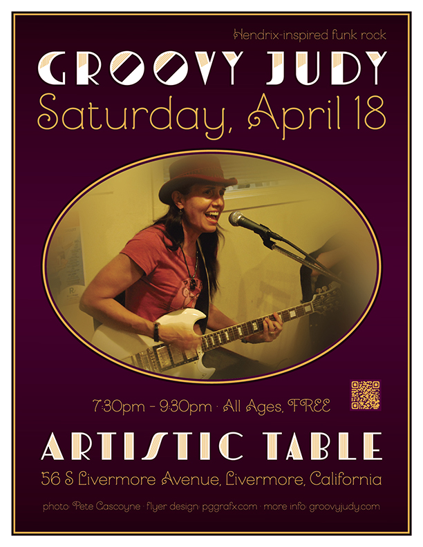 Artistic Table flyer
