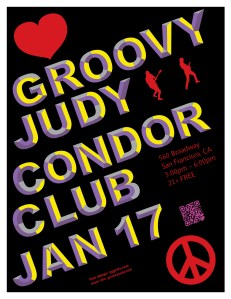 The Condor Club flyer 01-17-14