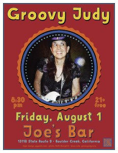 Joe's Bar flyer 08-01-14