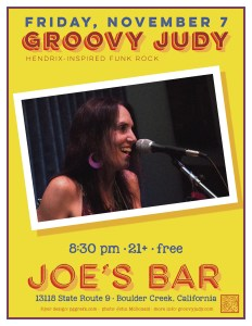 Joe's Bar flyer 11-07-14