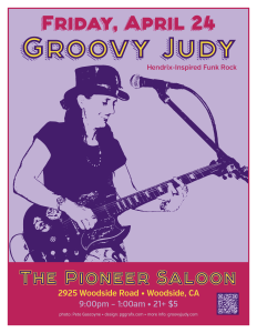 The Pioneer Saloon flyer 04-24-15