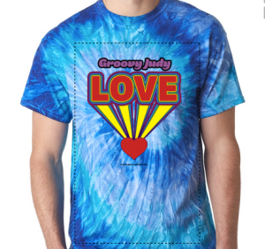 Love T-Shirt from Groovy Judy's Love CD