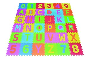 single-eva-foam-mats-letter-puzzle