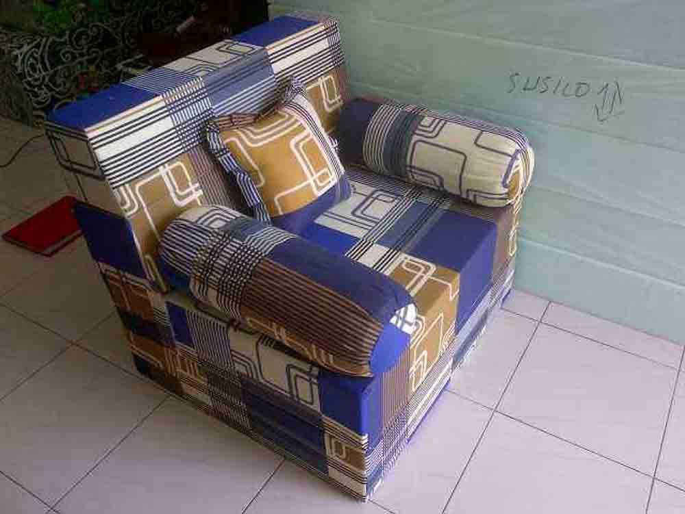 Kasur Sofabed Busa Super Abstrak Kotak Grosir Bandung