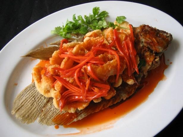 cara memasak nila ikan asam manis