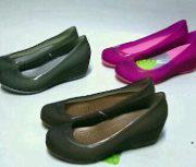 jual sepatu crocs carlisa wedges 085888666607