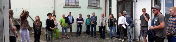 Großschönau Bürgerwerkstatt Webschule, Gruppenfoto