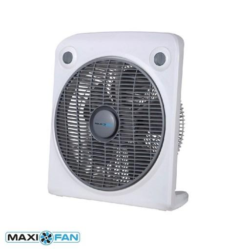 """Maxifan Fan 12"""" Rotating Box Fan"""