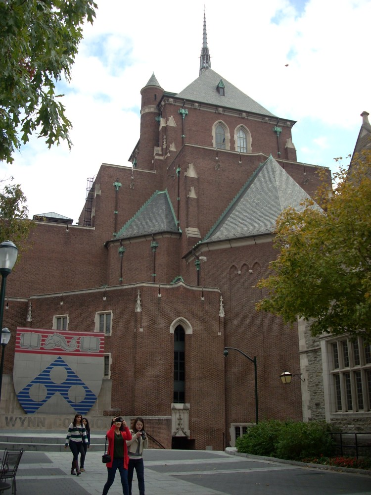 Irvine Auditorium, University of Pennsylvania, Philadelphia, PA (2/2)