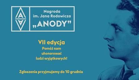 """VII edycja Nagrody im. Jana Rodowicza """"Anody"""""""
