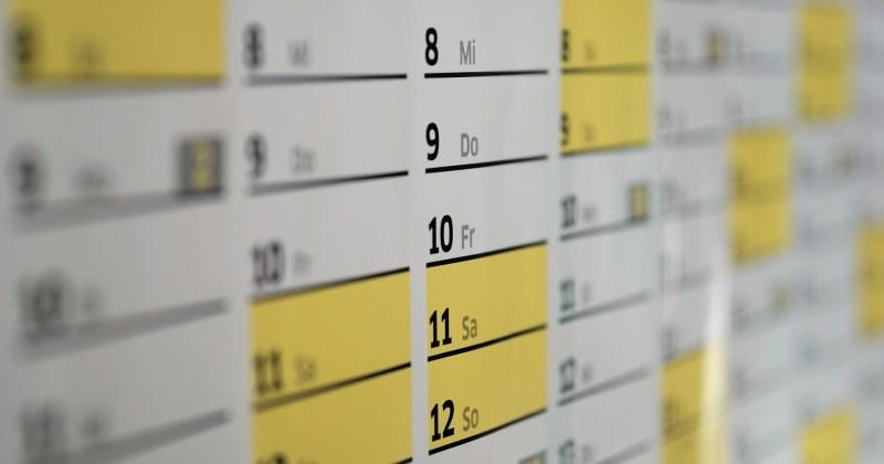 Kalendarz zawodów