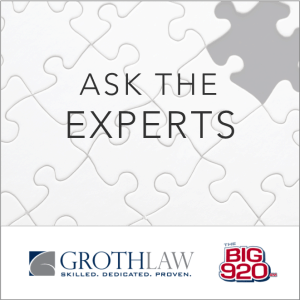 Ask the Experts at Groth Law Firm