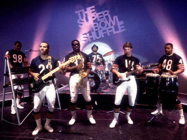 The 1985 Chicago Bears do The Super Bowl Shuffle
