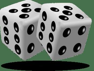 dice luck jinx thinking