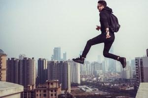jumping thinking